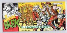 fumetto striscia - IL GRANDE BLEK serie inedita numero 12