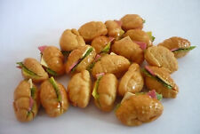 10 Loose Ham And Cheese Filled Croissant Dollhouse Miniatures Food Supply Deco