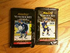 Two Packs 93-94 Pinnacle Hockey cards unopened, Canadian Edition
