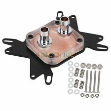 Universal CPU Water Cooling Block Copper Base 50x50mm for AMD Intel