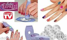 Salon Express Nail Art Stamping Kit