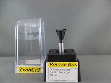 Router Bit-14mm DOVETAIL Bit T1018  (TruaCuT)