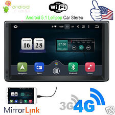 "7"" Android 5.1 Quad Core Car GPS Navi Stereo WiFi 3G BT Radio In-Dash Head Unit"