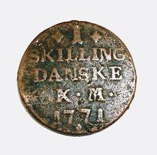 1771  1-Skilling Danske