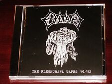 Epitaph: The Fleshcrawl Tapes '91 - '92 + Dark Abbey: Blasphemy Demo CD 2016 NEW