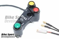 Ducati 899 959 1199 race handlebar switch Stop/Run_Start_Rain light, Brake clamp
