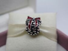 New w/Box & Tags Pandora Christmas Pinecone w/ Enamel Charm 791237EN39