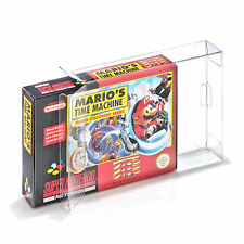 10 SNES Super Nintendo Schutzhülle OVP Spiel Game Protectors Box