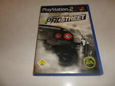 PlayStation 2  PS 2  Need for Speed - Pro Street