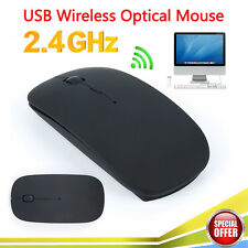 Slim Bluetooth Wireless Optical Mouse Mice Ultra for Windows 7/8 Android Macbook