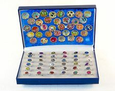 Magna Capz ~ Magnet Bottle Cap Novelty Ring Sets ~ 72 Pc. Retail Display Box
