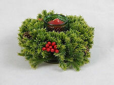 Vintage Scented Candlelight Centerpiece Brand New Old Stock Berry Pine Cones