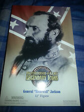 "SIDESHOW BROTHERHOOD OF ARMS US CIVIL GENERAL STONEWALL JACKSON 12"" NEW"