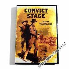 Convict Stage DVD New Harry Lauter, Don 'Red' Barry, Jodi Mitchell, Hanna Landy
