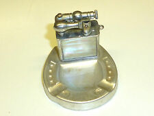 Vintage mini liftarm lighter with mini Ashtray-encendedor-Made in Japan