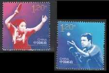 China 2013-24 Table Tennis Jointly Issued by China & Sweden Sport stamp set MNH