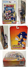 Jazwares Sonic the Hedgehog SONIC & BLAZE Action Figure Set with Comic Book