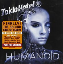 Tokio Hotel - Humanoid (2009)  CD  NEW/SEALED English Version  SPEEDYPOST