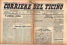 [SM2] CORRIERE DEL TICINO LOTTO DI 65  RIVISTE DAL 1942 AL 1943