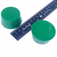"""(2) 1 5/8"""" x 2"""" #10 High Temp Silicone Rubber Plugs Powder Coating Paint Supply"""