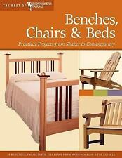 Benches, Chairs and Beds: Practical Projects from Shaker to Contempora-ExLibrary