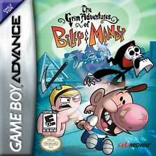 Grim Adventures of Billy & Mandy - Game Boy Advance GBA Game