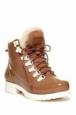 Australia Luxe  'Rubstep' Shearling Rain Boots, 36/5