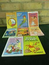 vintage 8 Ladybird Disney books snow white , Winnie , Bambi , Lion king , Peter