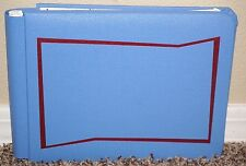 Creative Memories Light Blue with Red Trim Album 5x7 w/ 15/30 PAGES