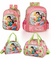 Tinkerbell Backpack Party Pixie Glitter Rucksack Lunch Bag Sports Disney Fairies