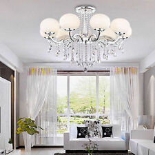 9 LIGHT FRENCH EMPIRE CRYSTAL CHANDELIER FOYER KITCHEN DINING OR LIVING ROOM