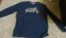 ~Boy's OLD NAVY Size S Navy Blue Long Sleeve Shirt Ships Free!