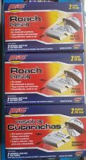 6 Large Roach Killer Prison Big Traps Baited PIC Control Easy Clean No Chemicals