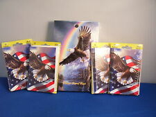 Bridge Tallies and Score Pad Patriotic Eagle 2and3 Table 48 Tallies 50 Sheets 4