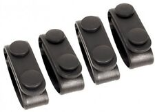 New! Authentic! Blackhawk Molded Belt Keepers (set of 4) - Black 44B300BK