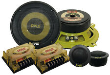 "Pyle Gear 5.25"" 800w 2-Way Pair Custom Car Component Speaker System Set Kit"