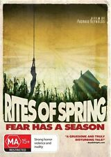 RITES OF SPRING (2011) NEW DVD