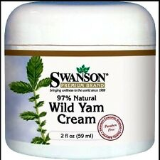 Wild Yam Cream     2 oz        ++ Avocado oil, jojoba oil & herbal extracts