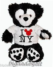 NWT DISNEY MICKEY MOUSE NEW YORK NYC WHITE BLACK PRE DUFFY BEAR