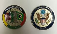 United States Department of State US Mission to Brazil 2016 Summer Olympics Coin