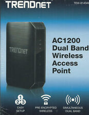 TRENDNET tew-814dap ac1200 Dual Band Wireless AC Router/W porta USB