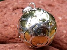 LARGE SILVERANDSOUL HARMONY BALL/CHIME BALL BALINESE 925 SILVER/BRASS PENDANT