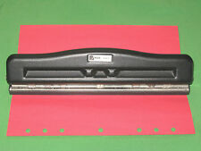 2 3 5 6 7 Hole Paper Punch ~ ADJUSTABLE ~ Acco Franklin Covey Monarch Day Timer