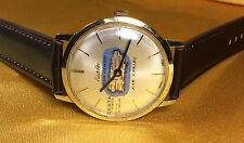 Vintage Desta Swiss Made 17 Jewels Ultra Thin Puerto Rico Men's Watch