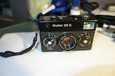 Rollei 35S film camera Sonnar 40/2.8 Singapore strap bag please read