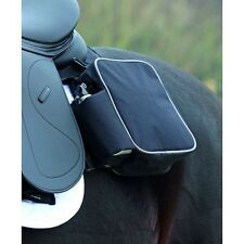 Shires Equestrian Horse Riding Saddle Panniers Bag with Drink Bottles