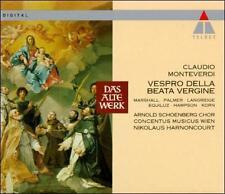 Claudio Monteverdi: Vespro della Beata Vergine (CD, Oct-1993, Teldec (USA))