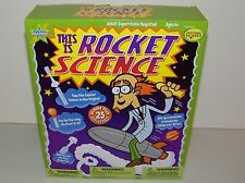 Be Amazing Toys This Is Rocket Science Set #3730 - 25 Activities New In Box