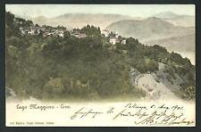 Levo ( Frazione di Stresa / Verbania ) :   cartolina viaggiata nel 1901