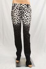 Authentic Blugirl (Blumarine) Women's leopard  jeans Made in Italy US 10 IT 44
